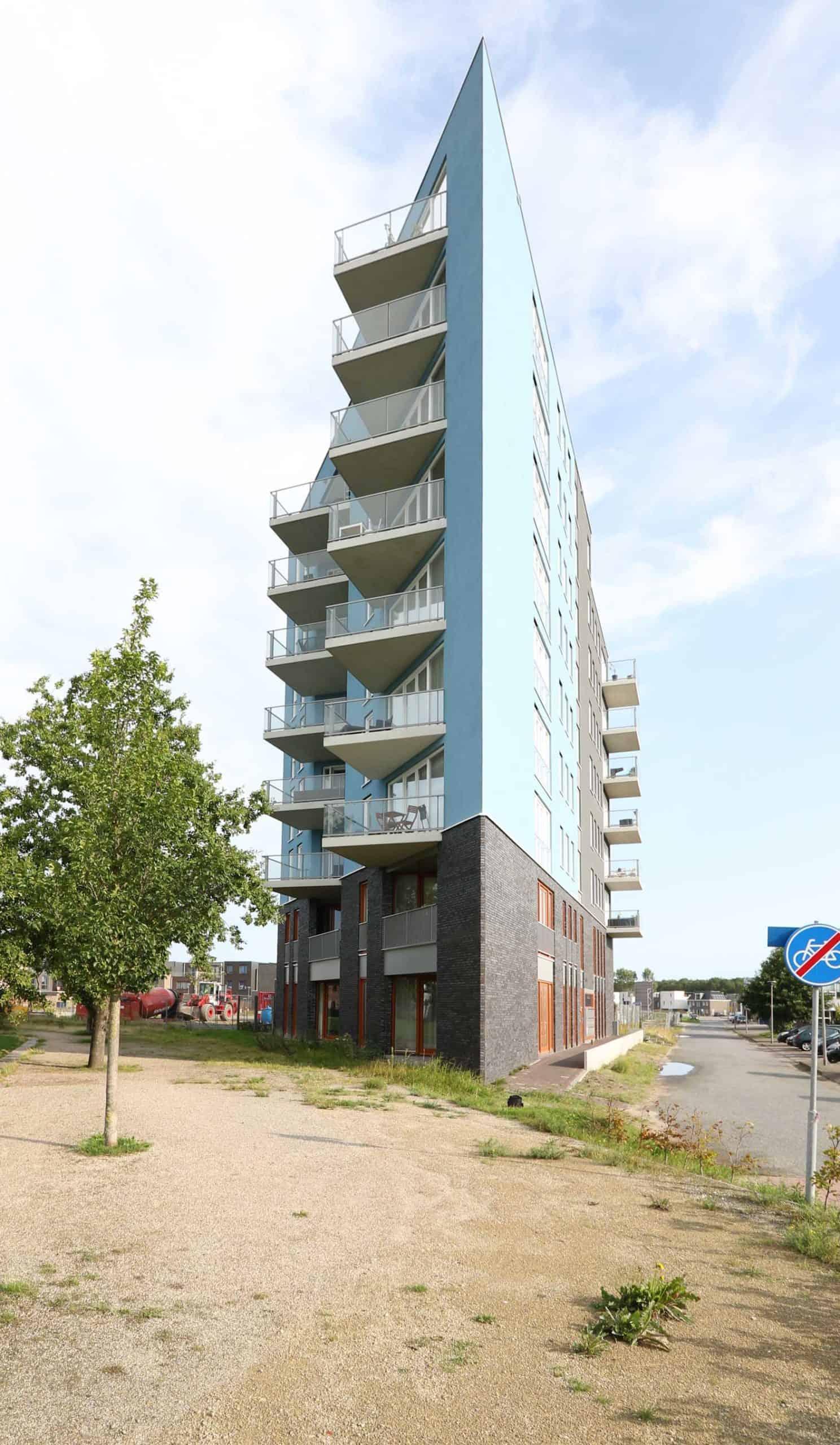 Appartementen complex Homeruspark Almere Poort