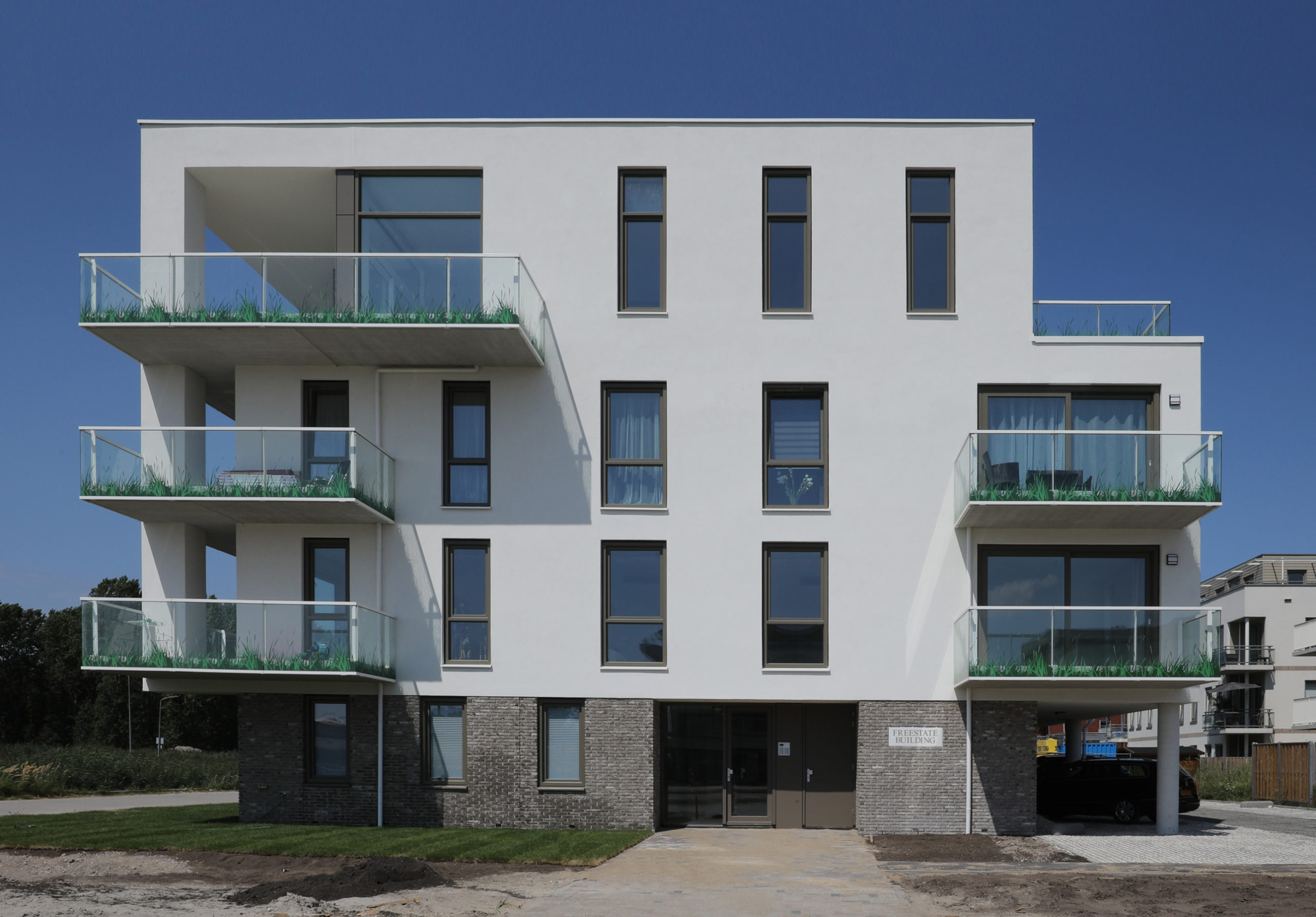Appartementen complex Freestate Building Almere Poort   Olof Architects