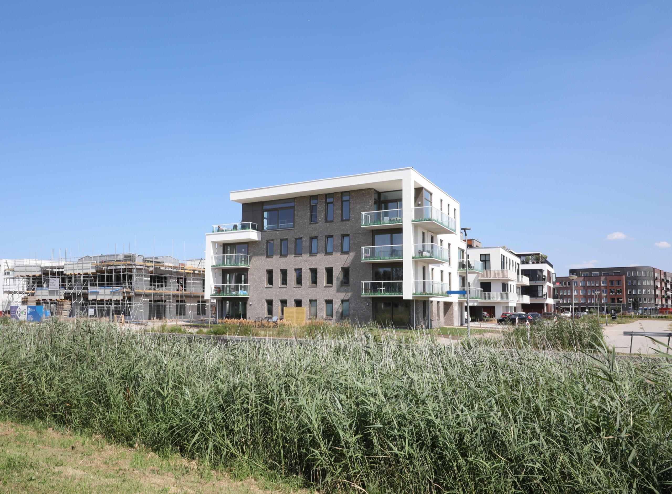 Appartementen complex Freestate Building Almere Poort | Olof Architects