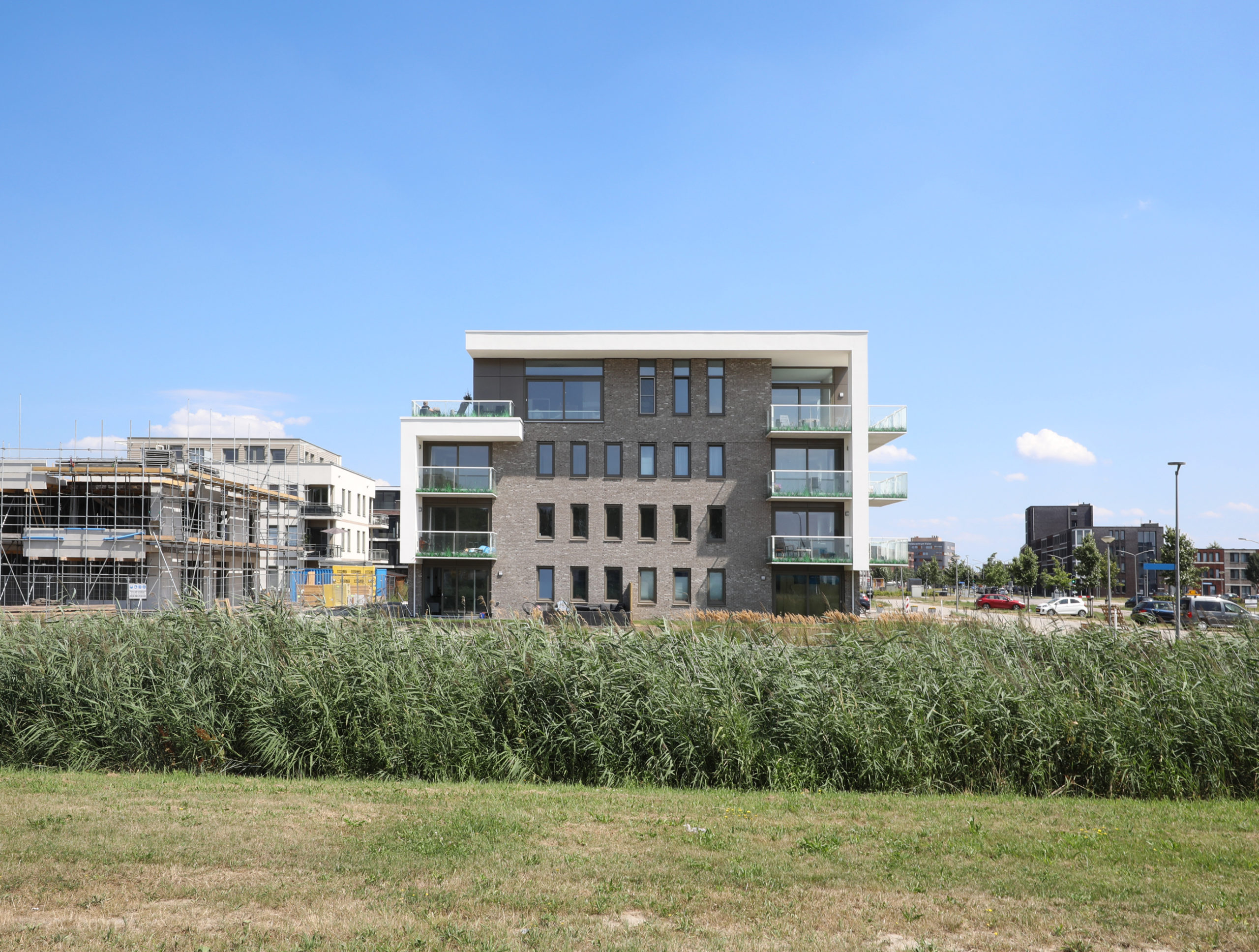 Appartementen complex Freestate Building Almere Poort | Olof Architects