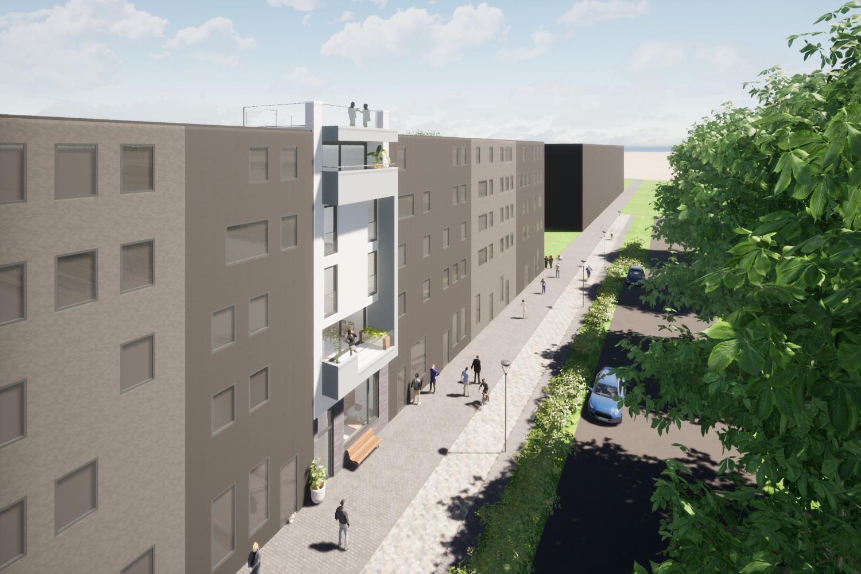 Luxe stadsvilla 3D impressie Amsterdam Centrumeiland IJburg | Olof Architects